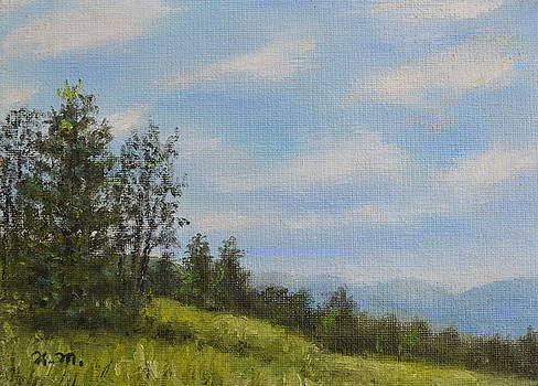 Hilltop Meadow by Kathleen McDermott
