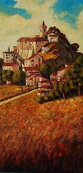 hilltop village of Molise by Santo De Vita