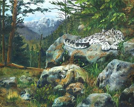 Himalayan Dreaming On Such A Summer's Day by Lori Brackett