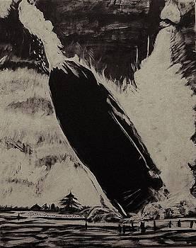 Hindenberg Disaster 1937 by Cynthia Farmer