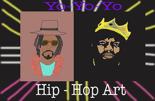 Hip-Hop Art by Michael Chatman