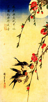 Hiroshige couple by Theodora Brown