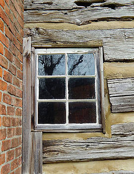 Historic Architectural Window by Phil Perkins