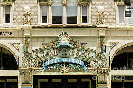 Historic Capitol Theatre - Salt Lake City - Utah by Gary Whitton