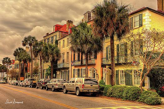 Historic Charleston Battery by David Simpson