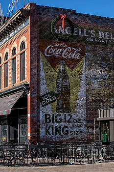 Historic Coca Cola Brick Ad - Fort Collins - Colorado by Gary Whitton
