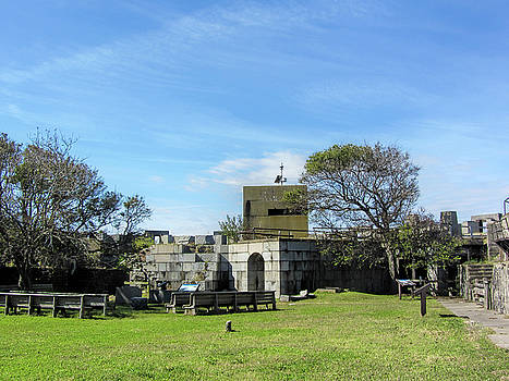 Historic Fort Wool Architecture by Kathy Clark