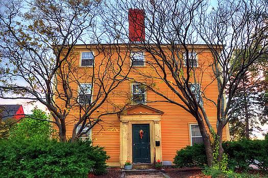 Historic Home - Salem, Ma by Joann Vitali