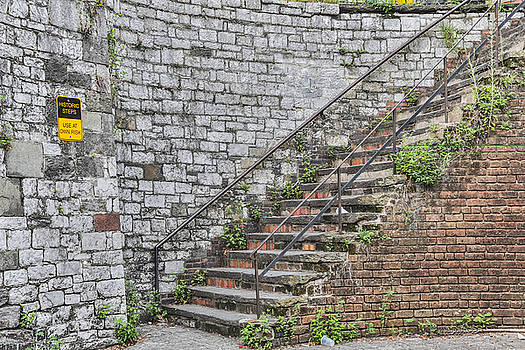 Historic Steps by Jimmy McDonald