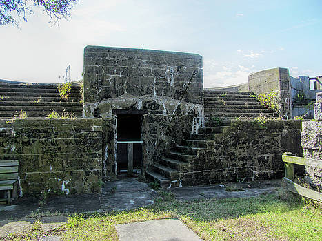 Historical Fort Wool Architecture by Kathy Clark