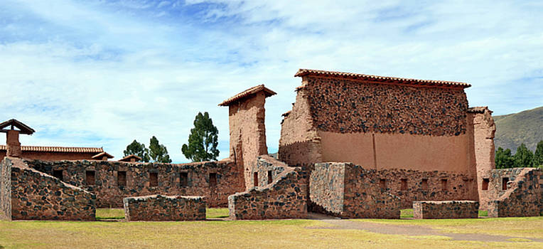 Historical ruins of the Spanish conquerors by Aleksandr Volkov