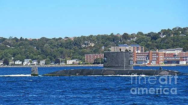 HMCS Windsor Canadian Submarine by John Malone