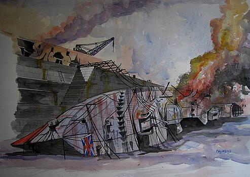 HMS Kingston by Ray Agius