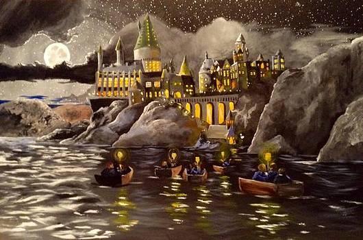 Hogwarts Castle 2 by Tim Loughner