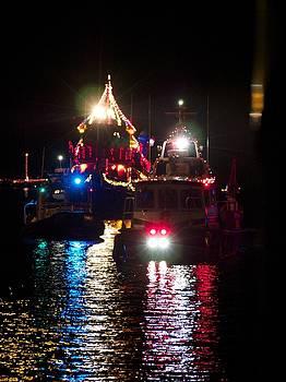 Holiday Boat Parade by Patricia McKay