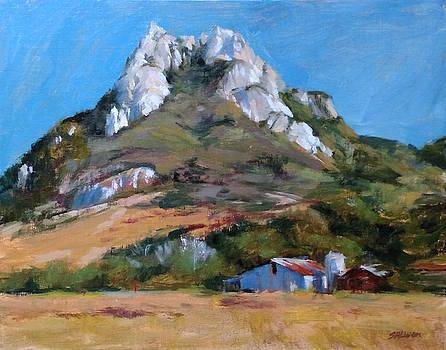 Hollister Peak by Peter Salwen