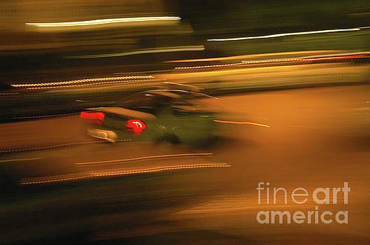Hollywood freeway at night 18 by Micah May