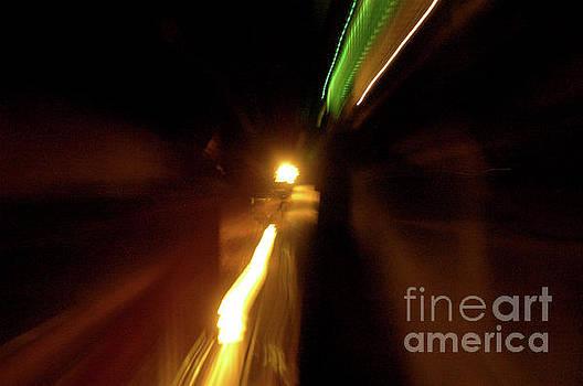 Hollywood freeway at night 20 by Micah May