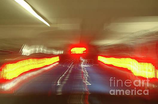 Hollywood freeway at night 23 by Micah May