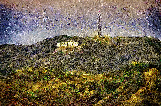 Hollywood Sign by Joseph Hollingsworth