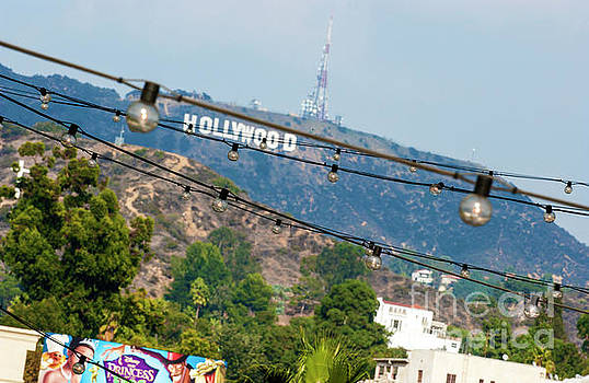 Hollywood sign on the hill 1 by Micah May
