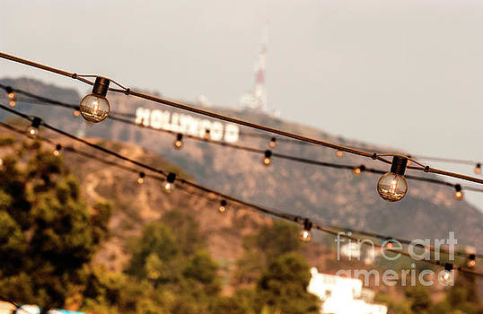 Hollywood sign on the hill 2 by Micah May