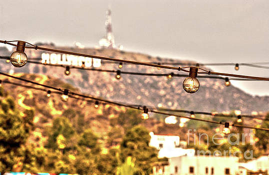 Hollywood sign on the hill 6 by Micah May