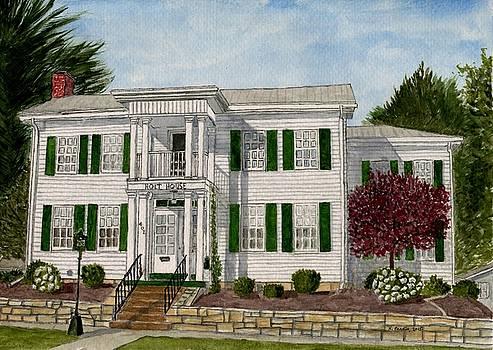 Holt House by B Kathleen Fannin
