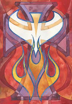 Holy Spirit 3 by Mark Jennings
