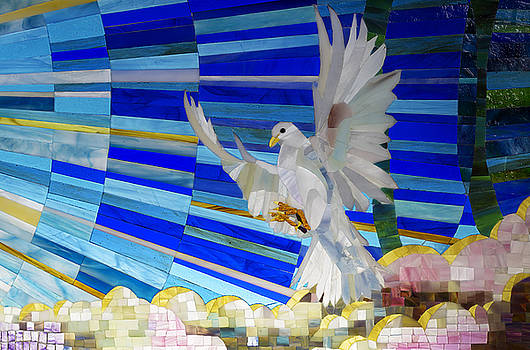 Holy Spirit Dove by Cindy D Chinn
