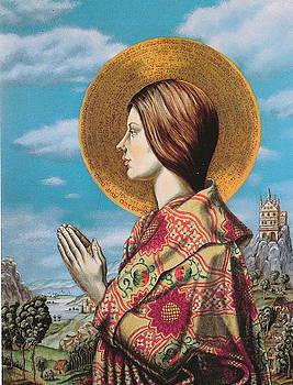 Holy Woman by Eric de Kolb