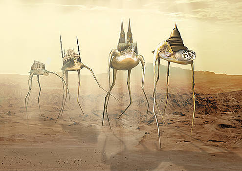 Homage to Dali by Dray Van Beeck