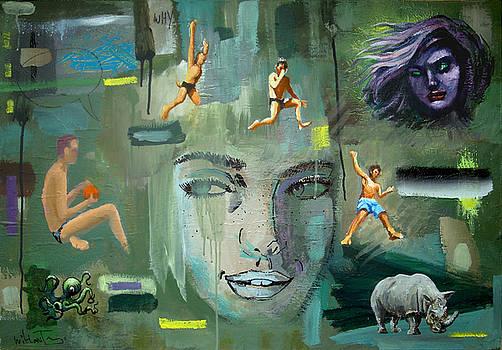 Homage to Rauschenberg  by Geoff Greene