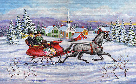 Richard De Wolfe - Home For Christmas