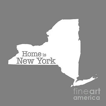 Home is New York by Bruce Stanfield