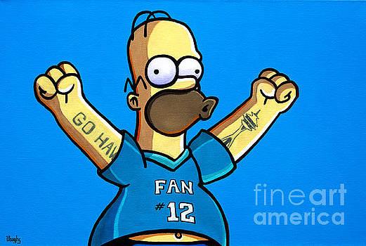 Homer by Bryan Ubaghs