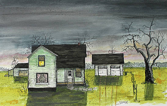 Homestead Evening by Jack G Brauer