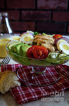 Honey Mustard Chicken Cobb Salad 2 by Deborah Klubertanz