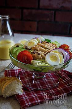 Honey Mustard Chicken Cobb Salad 1 by Deborah Klubertanz