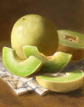 Honeydew Melons by Robert Papp