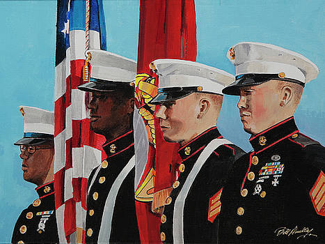 Honor Guard by Bill Dunkley