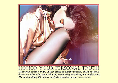 Honor Your Personal Truth by Jaeda DeWalt