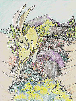 Hopping Away by Theresa Higby