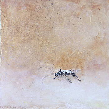 Horned Beetle by Genevieve Smith