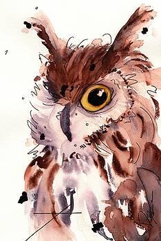 Horned Owl by Dawn Derman