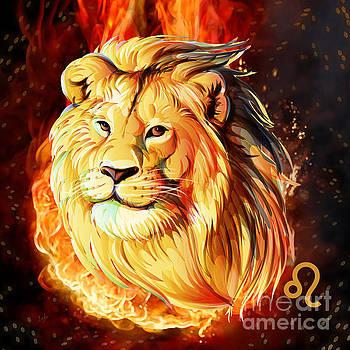 Horoscope Signs-Leo by Bedros Awak