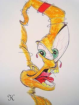 Horrified Horn by Roger Golden