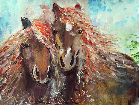 Horse Love this is only the beginning by Ashleigh Dyan Bayer