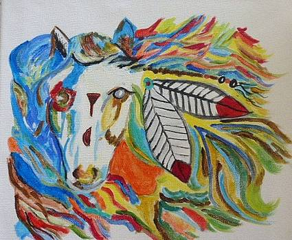 Horse Mask by Ann Whitfield
