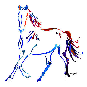 Horse of many Colors by Jo Lynch